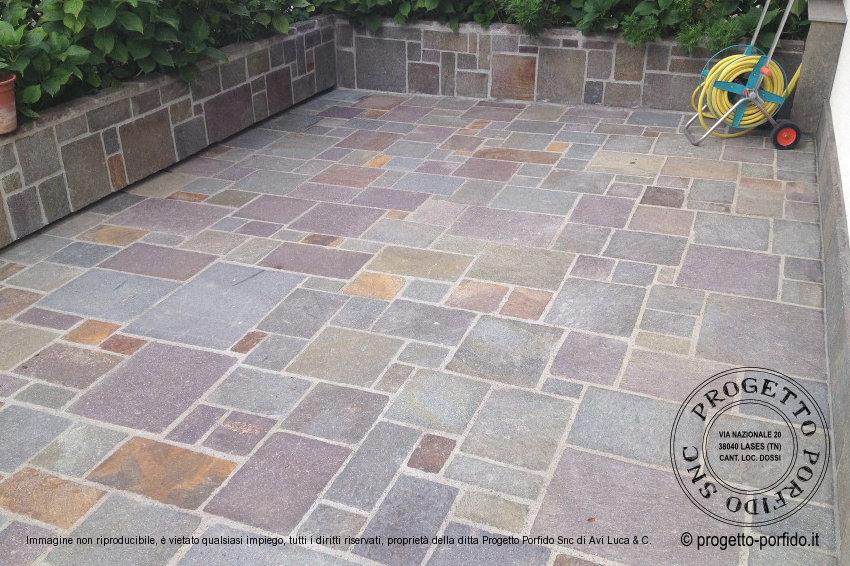 Piastrelle porfido pavimenti di prima qualità con prodotti