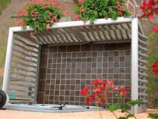 balcone in porfido
