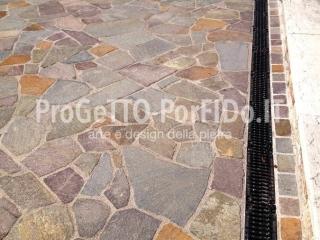 mosaico di porfido doc
