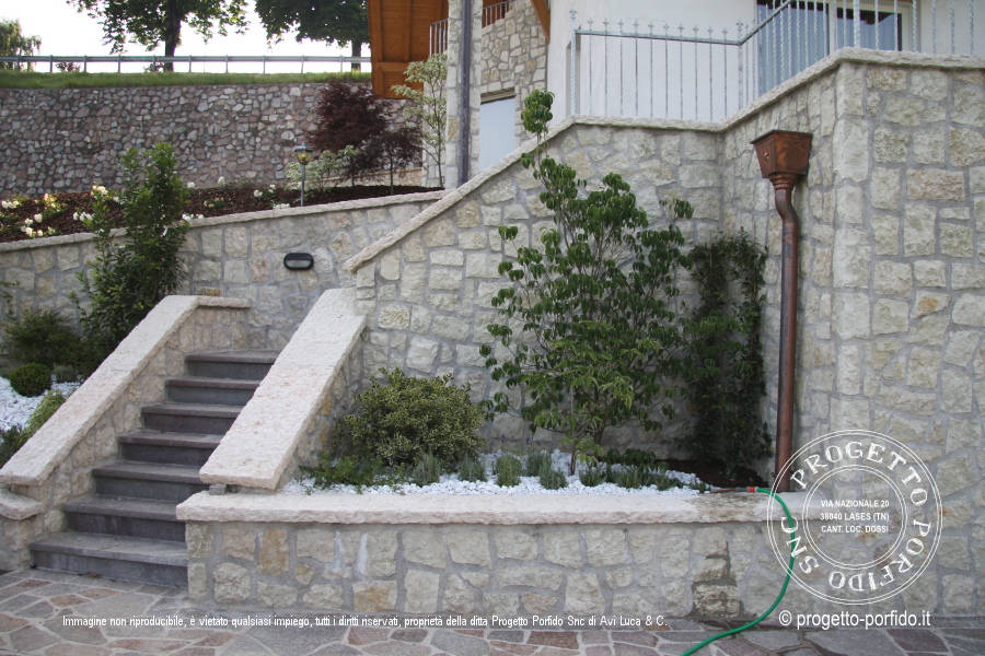 rivestimento muro in pietra