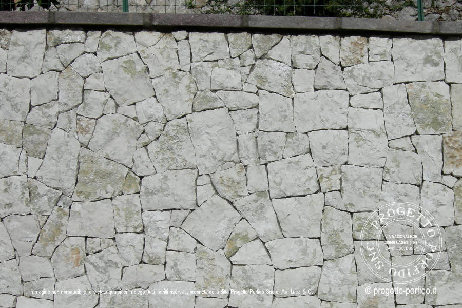 abbastanza Rivestimento muri - Progetto Porfido Snc UO15