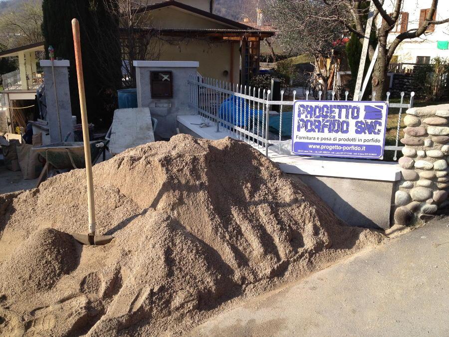 Cemento senza sabbia