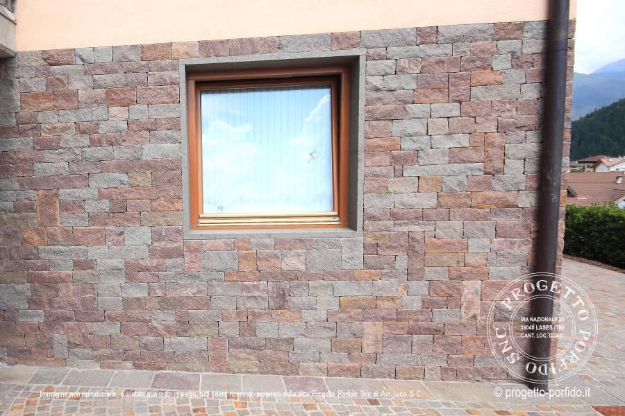 rivestimento muri Progetto Porfido Snc